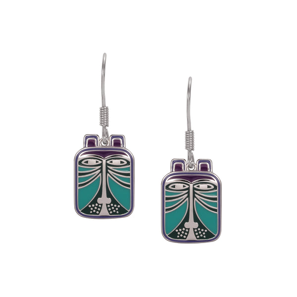 Toshio Teal Earrings Jewelry Laurel Burch Jewelry - Laurel Burch Studios