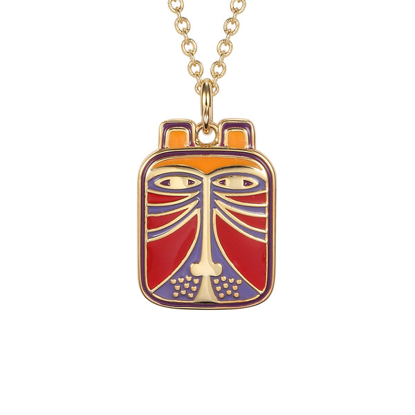 Toshio Red Necklace Jewelry Laurel Burch Jewelry - Laurel Burch Studios