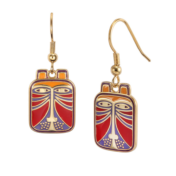 Toshio Red Earrings Jewelry Laurel Burch Jewelry - Laurel Burch Studios