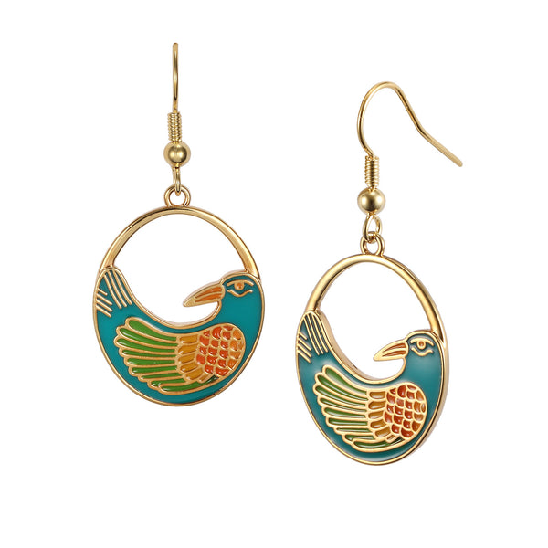 Nile Bird Earrings Jewelry Laurel Burch Jewelry - Laurel Burch Studios