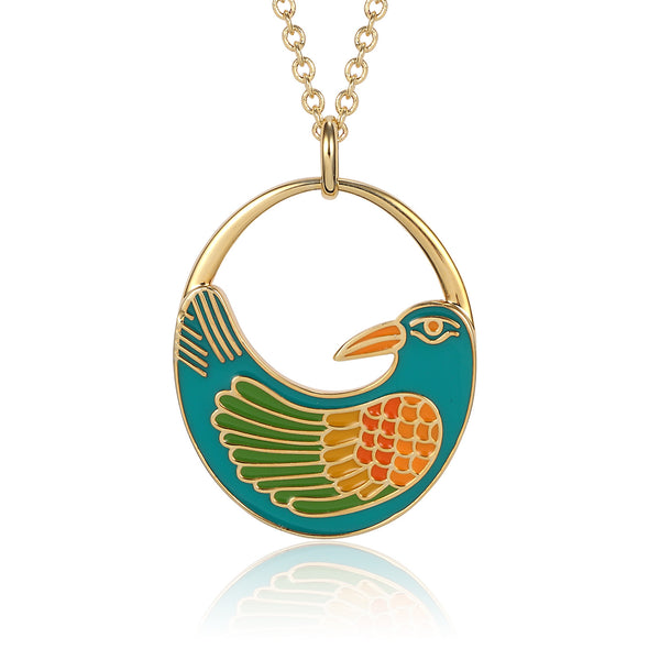 Nile Bird Necklace Jewelry Laurel Burch Jewelry - Laurel Burch Studios