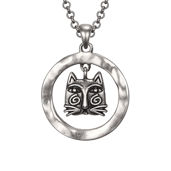 Whirly Cat Necklace Jewelry Laurel Burch Jewelry - Laurel Burch Studios