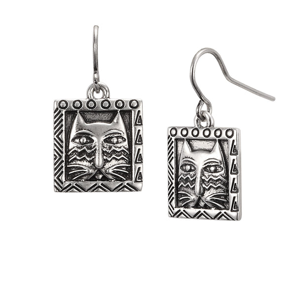 Ziggy Cat Earrings Jewelry Laurel Burch Jewelry - Laurel Burch Studios