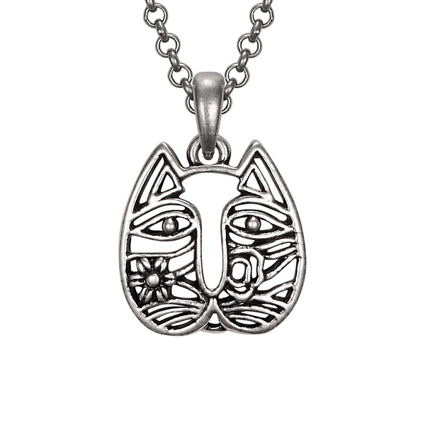 Cat Face Necklace Jewelry Laurel Burch Jewelry - Laurel Burch Studios