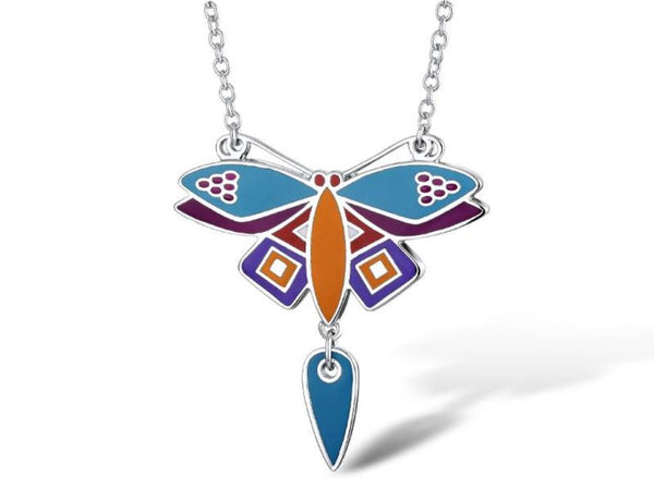 Dragonfly Necklace Jewelry Laurel Burch Jewelry - Laurel Burch Studios