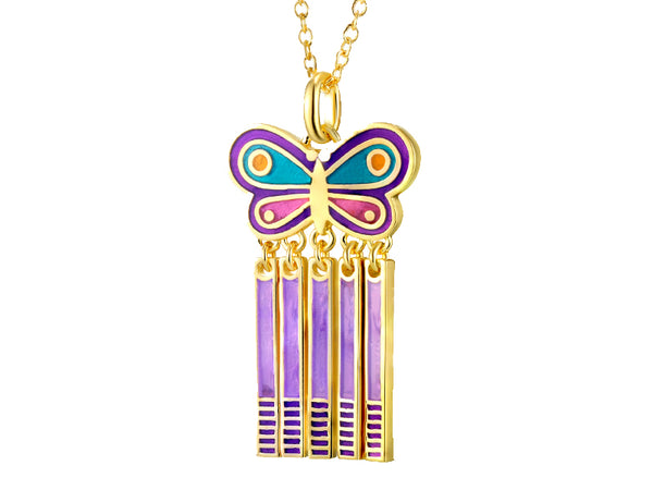 Spring Butterfly Necklace Jewelry Laurel Burch Jewelry - Laurel Burch Studios