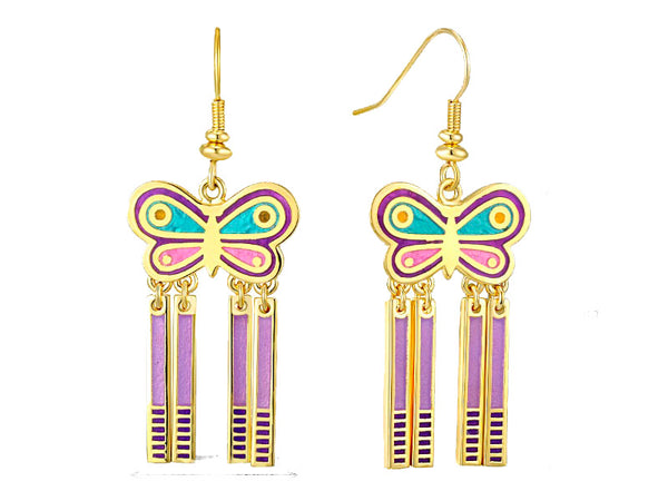 Spring Butterfly Earrings Jewelry Laurel Burch Jewelry - Laurel Burch Studios