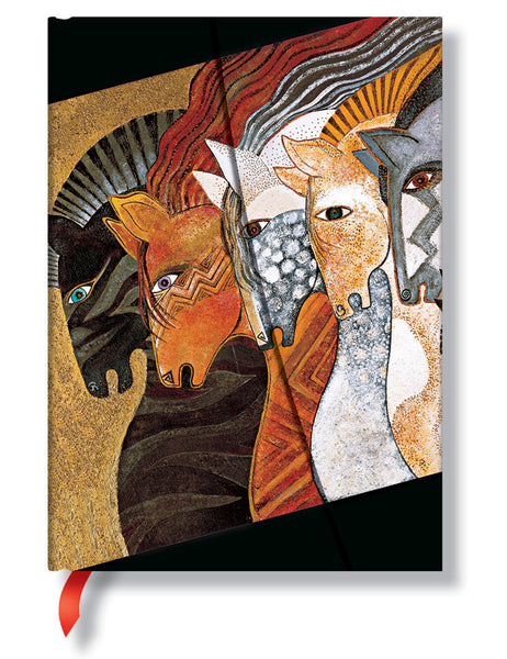 Moroccan Mares Midi Journal Books & Stationery Hartley & Marks - Laurel Burch Studios