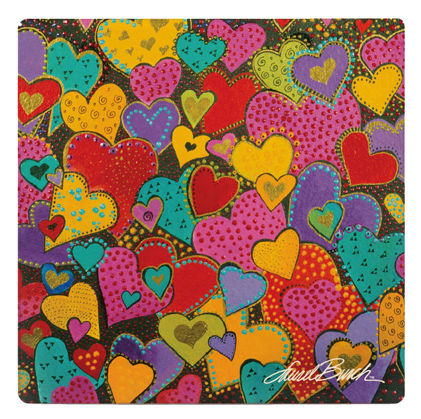 Dancing Hearts Coaster - Single