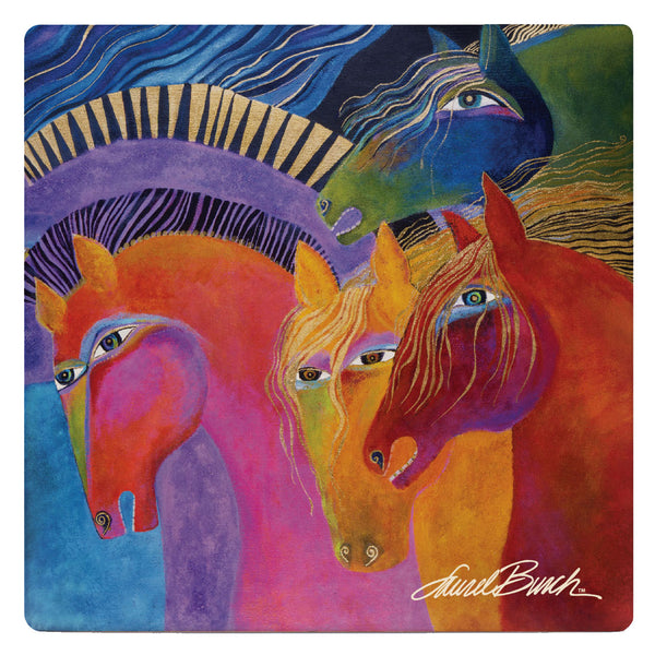 Wild Horses of Fire Coaster - Single