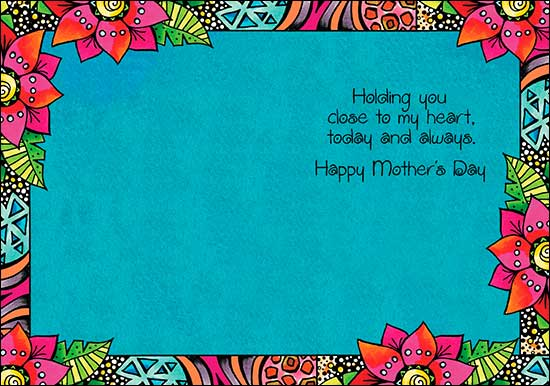 Mother's Day Card: Holding you close