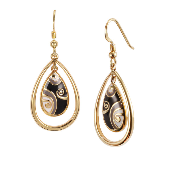 Primal Tear Earrings Jewelry Laurel Burch Jewelry - Laurel Burch Studios