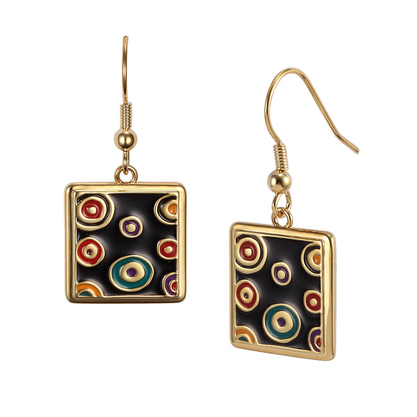 Colors de la Vie Earrings Jewelry Laurel Burch Jewelry - Laurel Burch Studios