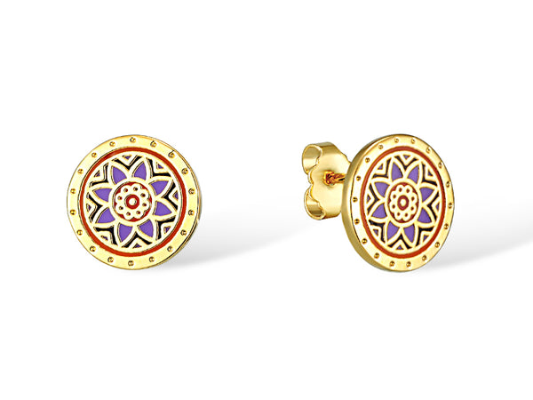 Floret Stud Earrings Jewelry Laurel Burch Jewelry - Laurel Burch Studios