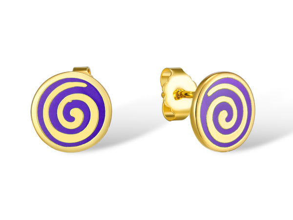 Swirl Stud Earrings Jewelry Laurel Burch Jewelry - Laurel Burch Studios