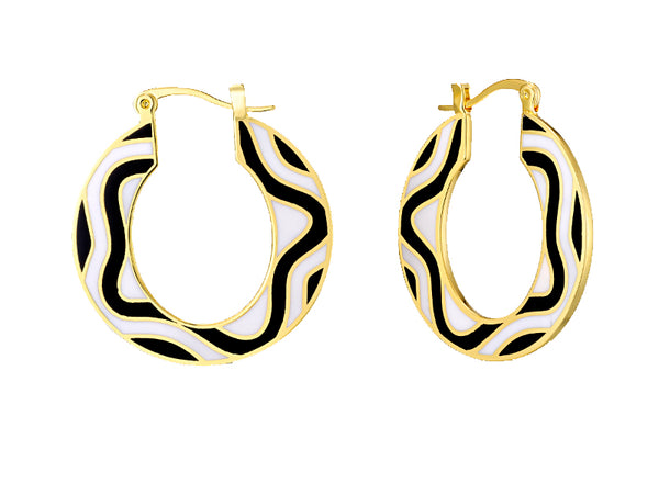 Delia Hoop Earrings