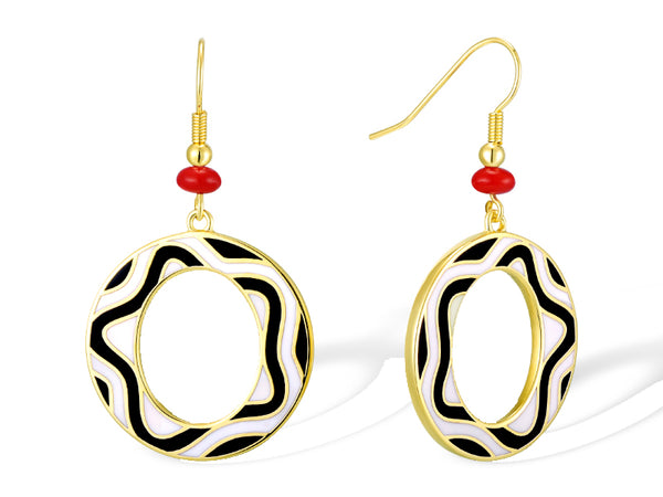 Delia Earrings Jewelry Laurel Burch Jewelry - Laurel Burch Studios