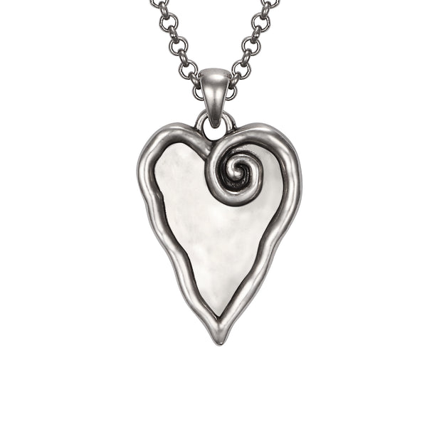 Heart and Soul Necklace Jewelry Laurel Burch Jewelry - Laurel Burch Studios