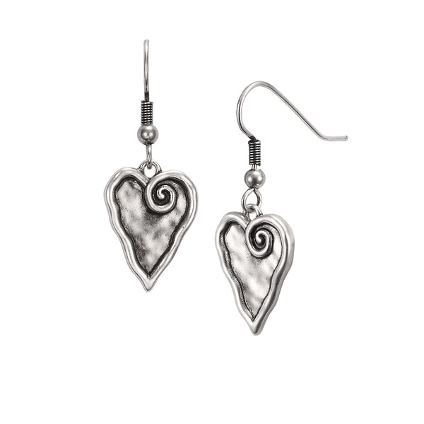 Heart Earrings Jewelry Laurel Burch Jewelry - Laurel Burch Studios