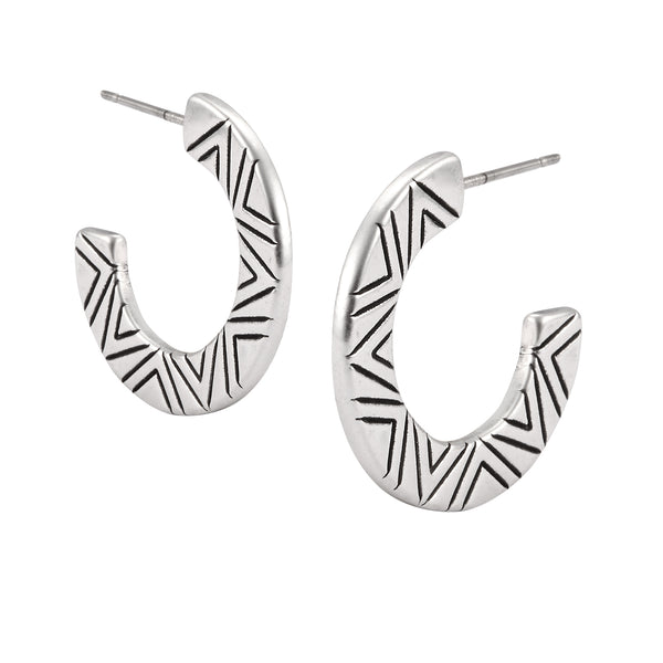 Ziggy Hoop Earrings Jewelry Laurel Burch Jewelry - Laurel Burch Studios