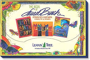 Best of Laurel Burch Assortment of 20 Greeting Cards Books & Stationery Leanin' Tree - Laurel Burch Studios