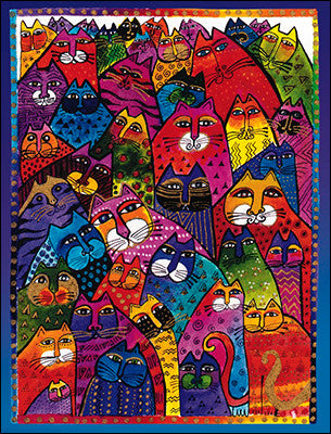 Cats by Laurel Burch Books & Stationery Leanin' Tree - Laurel Burch Studios