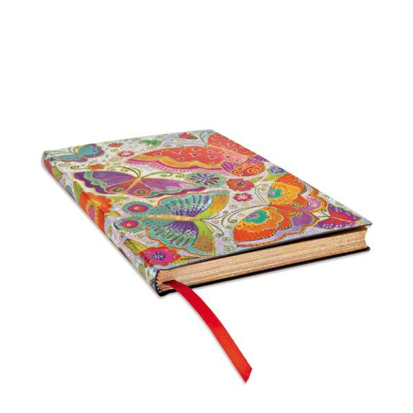 Flutterbyes Flexis Midi Notebook- 176 Pages Books & Stationery Laurel Burch Studios - Laurel Burch Studios