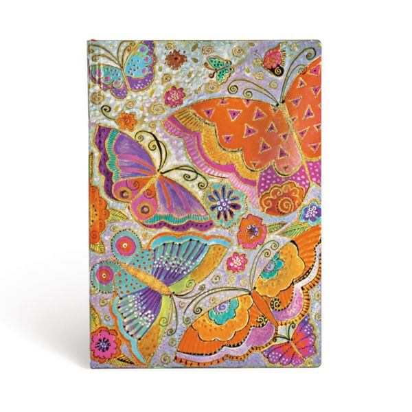Flutterbyes Flexis Midi Notebook- 240 Pages Books & Stationery Laurel Burch Studios - Laurel Burch Studios