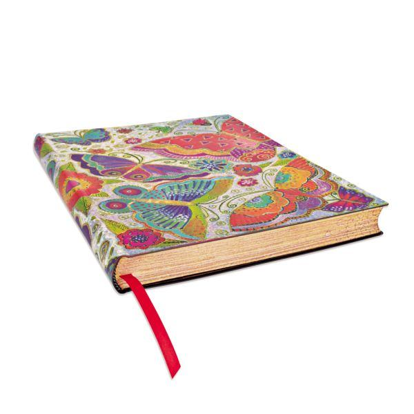 Flutterbyes Flexis Ultra Notebook- 240 Pages Books & Stationery Laurel Burch Studios - Laurel Burch Studios