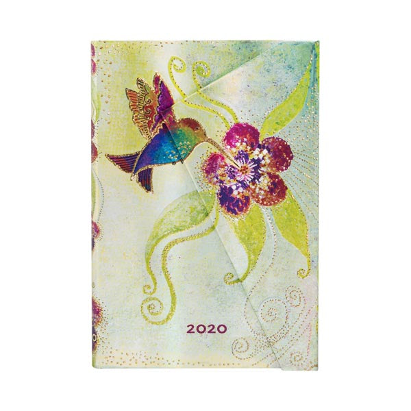 Mini 2020 Hummingbird Week-at-a-Time 12-Month Day Planner