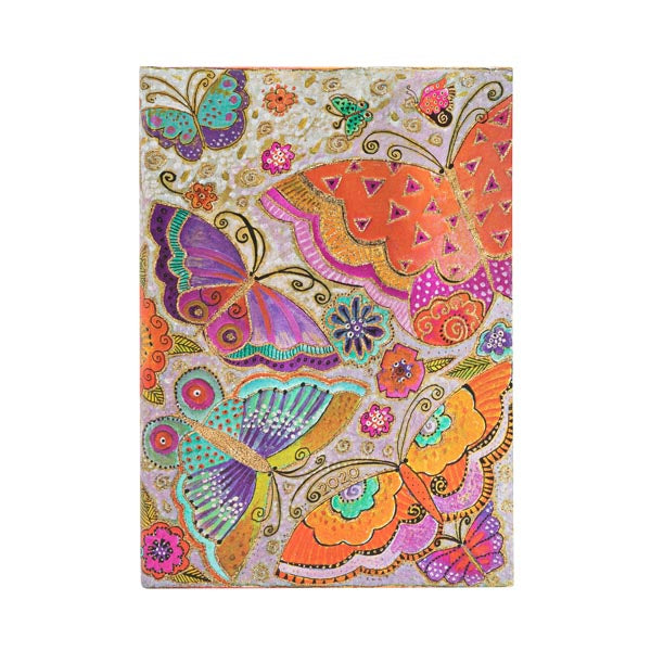 Midi 2020 Flutterbies Week-at-a-Time 12-Month Day Planner