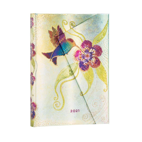 2021 Day-at-a-Glance Midi Planner - Hummingbird