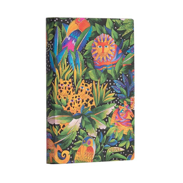 2021 Week-at-a-Glance Mini Planner - Jungle Songs