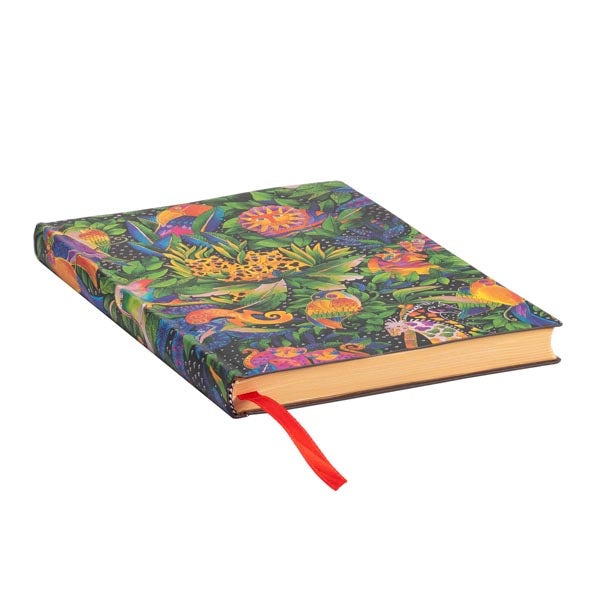 Jungle Songs Midi Lined Notebook