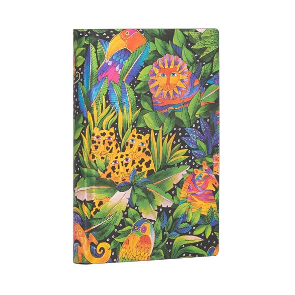 Lined Mini Notebook - Jungle Songs