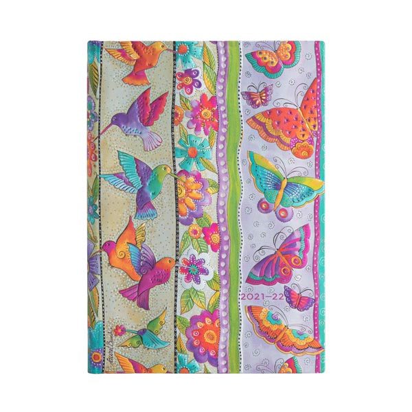 2021-2022 Week-at-a-Glance Mini Planner- Hummingbird