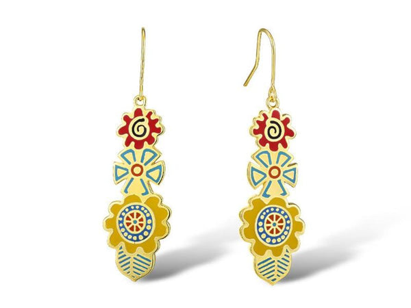 Blossoms Earrings Jewelry Laurel Burch Studios - Laurel Burch Studios