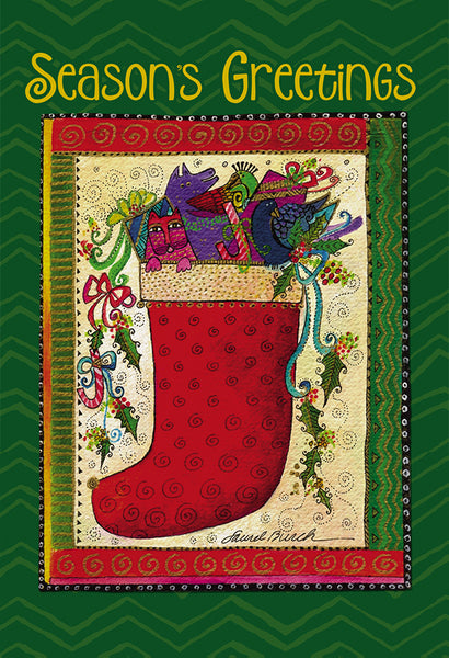 Season's Greetings Christmas Card Boxed Set- 10 Card Set
