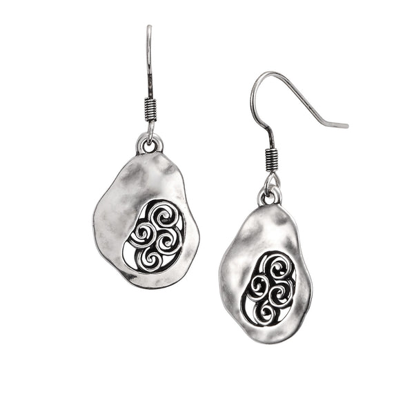 Cielo de Plata Earrings Jewelry Laurel Burch Jewelry - Laurel Burch Studios