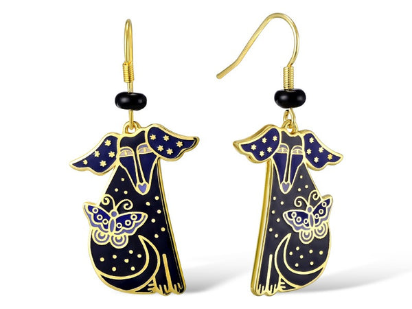 Basso Earrings - Black