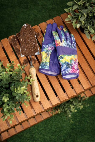 Rainbow Batik Garden Gloves