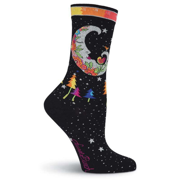 Women's Mystic Moon Crew Socks