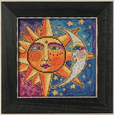 Sister Sun, Brother Moon Cross Stitch Kit CRAFT Wichelt Imports - Laurel Burch Studios