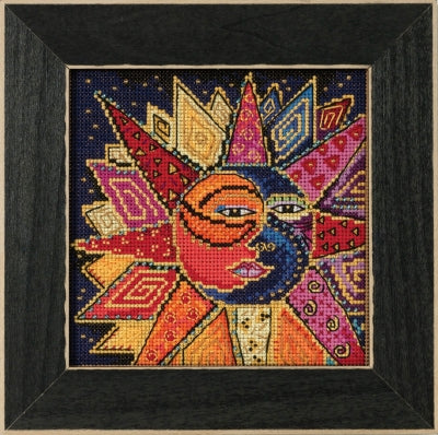 Sun and Moon Dance Cross Stitch Kit CRAFT Wichelt Imports - Laurel Burch Studios