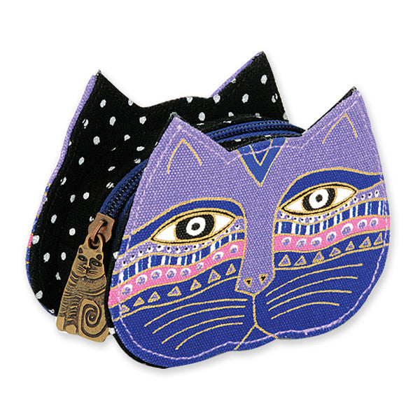 Feline Faces Coin Purse Bags Laurel Burch Studios - Laurel Burch Studios