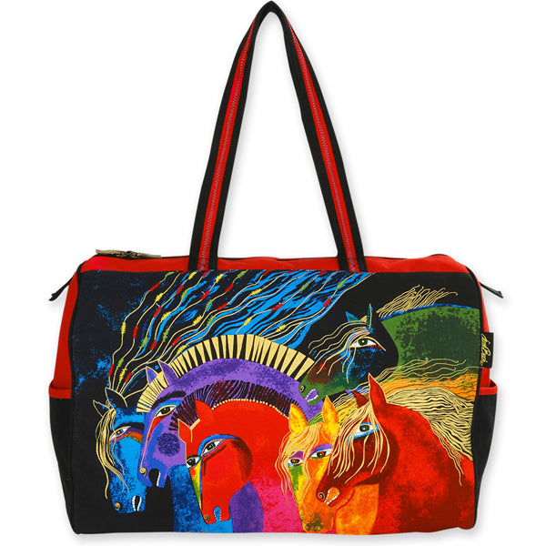 Wild Horses of Fire Travel Bag