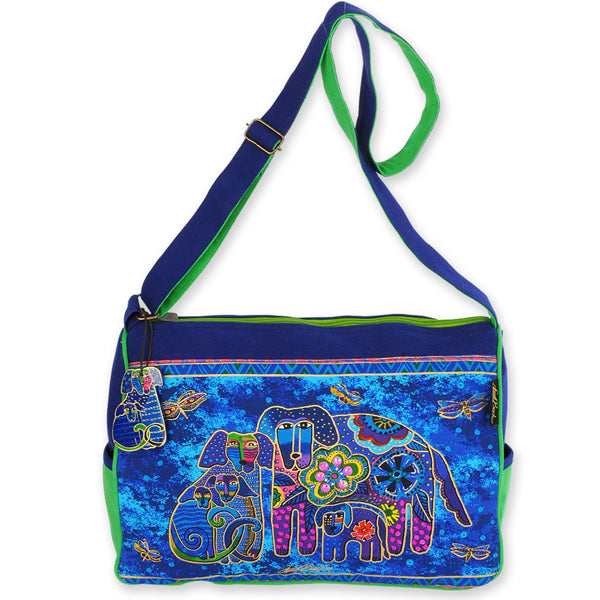 Caine Family Med. Shoulder Tote Bags Laurel Burch Studios - Laurel Burch Studios