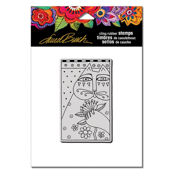 Sentimental Feline Cling Stamp Set