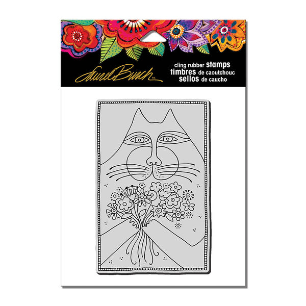 A Bunch of Love Cling Stamp Set Stamps Laurel Burch Studios - Laurel Burch Studios