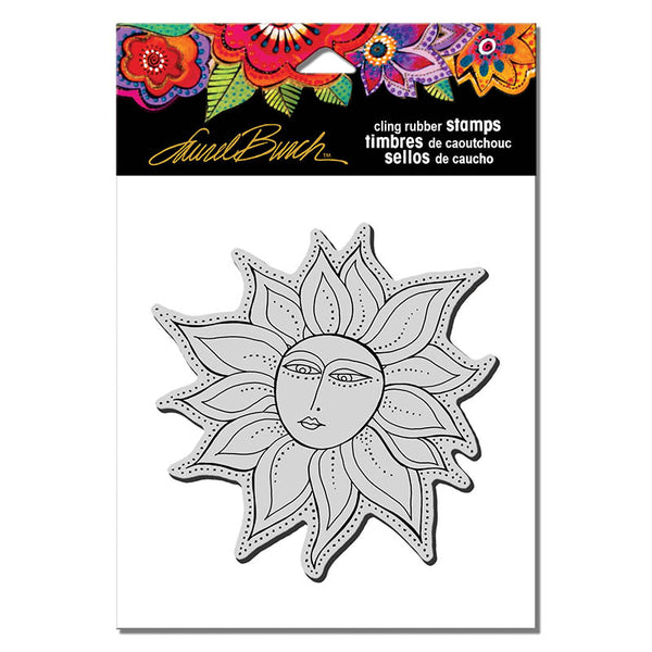 Sister Sun Cling Stamp Set Stamps Laurel Burch Studios - Laurel Burch Studios
